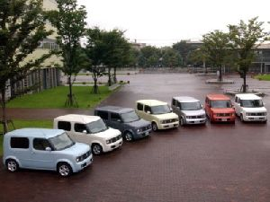 nissan cube and dnissan cubic lineup in uk