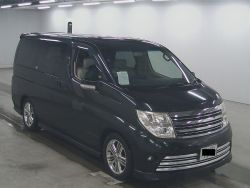 nissan elgrand for sale UK registered direct Japan import