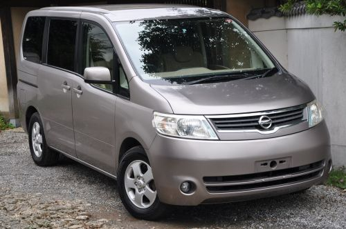 UK for sale Nissan Serena.