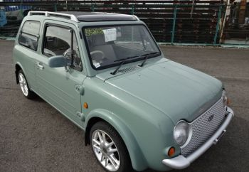 nissan pao for sale uk registered by Algys Autos UK.