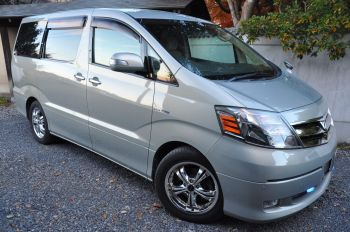 toyota alphard for sale uk registered and offered by algys autos