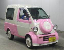 daihatsu midget for sale pink and white