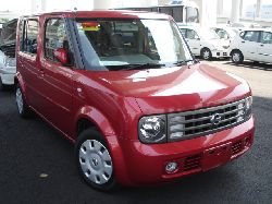 red nissan cube for sale uk