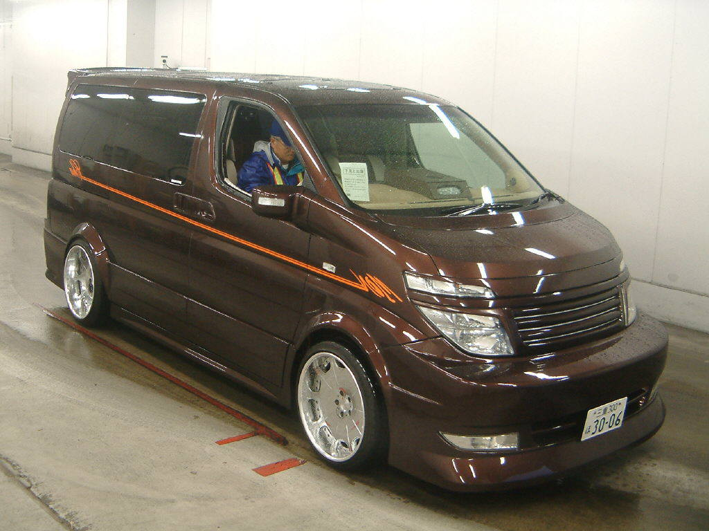 nissan elgrand for sale UK registered direct Japan import supplied fully UK Registered Nissan Elgrand rider