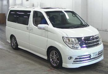 nissan elgrand for sale UK registered direct Japan omport supplied fully UK Registered