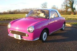 left hand drive nissan figaro for sale
