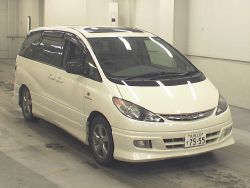 toyota Estima for sale uk Registered direct Japan import, Algys Autos.