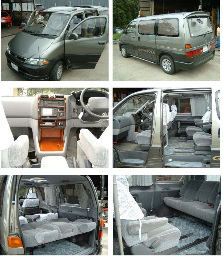 toyota granvia for sale uk