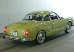 green vw karmann ghia for sale UK.